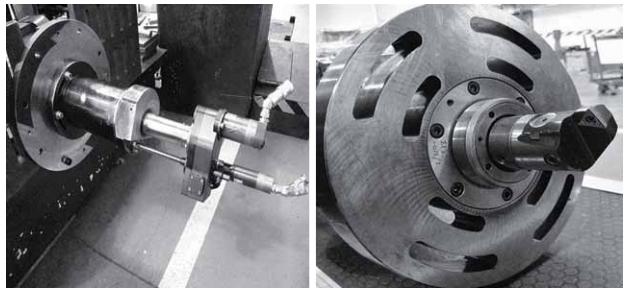 Высокоточное растачивание муфт роторов турбин