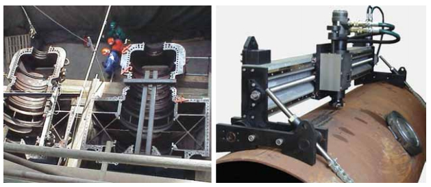 Примеры применения мобильных фрезерных станков